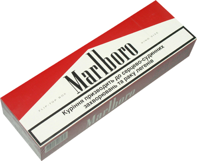 Types of Dunhill cigarettes United Kingdom